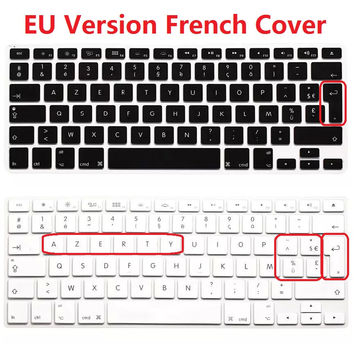 EU Euro AZERTY French Keyboard Cover For Macbook Air Pro Retina 13 15 Silicone PC Computer Keyboard Skin Protector For iMac