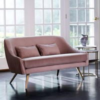 "Roar + Rabbit™ Glamour Velvet Sofa (60"")"