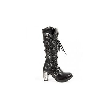 Newrock - M-TR004-S1 High Boot Trail Boots