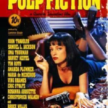 Pulp Fiction Movie Poster Standup 4inx6in