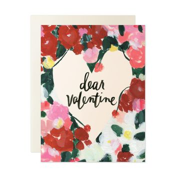 OUR HEIDAY DEAR VALENTINE CARD