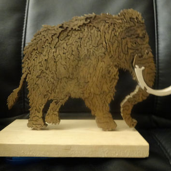 Wooden Mammoth Puzzle