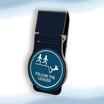 Follow The Leader Money Clip Round