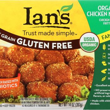 IANS NATURAL FOODS: Organic Nuggets Chicken Family Pack, 14 oz