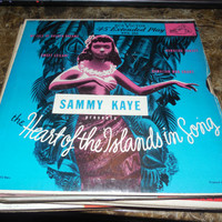 Vintage 45 Vinyl Record Sammy Kaye The Heart of the Islands in Song - My Isle of Golden Dreams - Sweet Leilani - Hawaiian Sunset