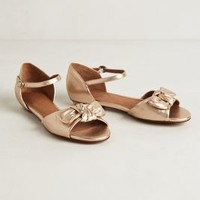 Rosegold Bow Flats by