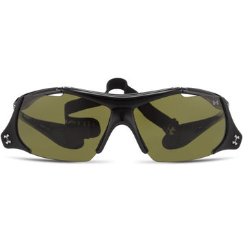 Under Armour Thief Flip-Up Sunglasses Shiny Black/Game Day