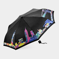 New York City Skyline Color-Changing Umbrella