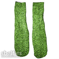Grass Foot Gloves