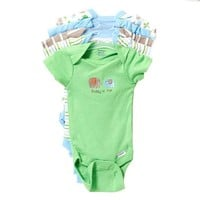 5pk Onesuits Newborn 374490895 | Clothing More | Gerber | Shop by Brand | Burlington Coat Factory