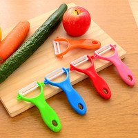Free shipping ceramic paring knife melon and fruit knife Slicer vegetable Cutter peeler peeler Kitchen gadgets Cooking Tools