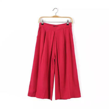 Linen Casual Summer Women's Fashion Pants [4920626308]