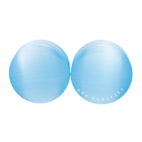 Arctic Blue Cat's Eye Glass Plugs (3mm-20mm)