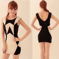 Slender ♡ Colorblock Dress