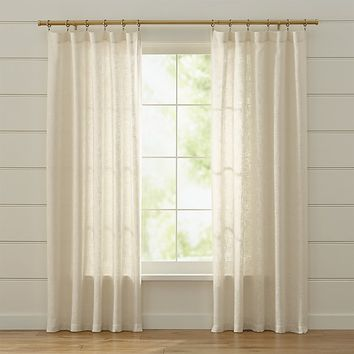 Lindstrom Ivory Curtains
