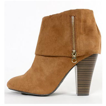 High Life Camel Booties