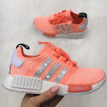 Adidas NMD NMD_R1 W Glittering Breathable Running Sports Shoes Sneakers-1