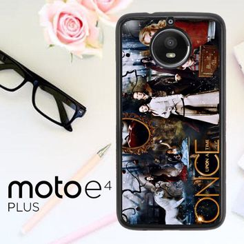 Once Upon A Time Wallpaper Y0852 Motorola Moto E4 Plus Case