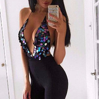 Christen Sequin Bodysuit