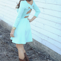 Thank Me Now Dress: Mint | Hope's