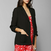 Sparkle & Fade Chiffon Blazer - Urban Outfitters