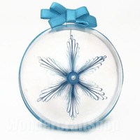 blue paper snowflake, ball ornament, christmas tree decoration, quilled snowflake, christmas star, christmas decoration