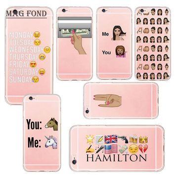 Mag Fond For iPhone 8 Funny Kim Kardashian Crying Face Emoji Phone Case