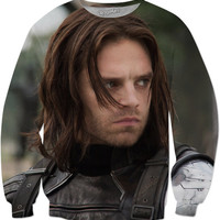 The winter soldier Sweat Shirt