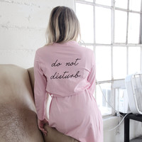 """Do Not Disturb"" Robe"