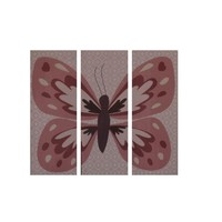 CoCaLo Baby Emilia Canvas Baby Girl Butterfly Wall Decor