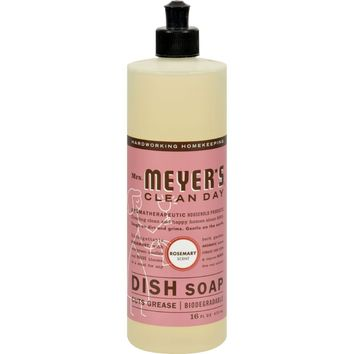 Mrs. Meyer's Liquid Dish Soap - Rosemary - 16 Oz