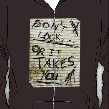 Oh slender, u so scary Hoodie (Zipper)