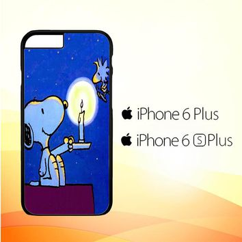 Snoopy Light In The Dark V 2108 iPhone 6 Plus|6S Plus Case