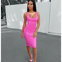 Barbie Doll Latex party dress