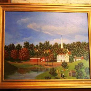DeWitt Jones Lobrano Original Painting