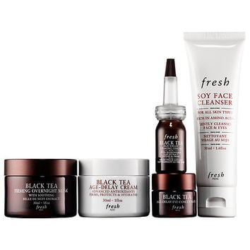 Black Tea Skincare: Firming Favorites Set - Fresh | Sephora