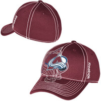 Colorado Avalanche Reebok Face Off Draft Spin Flex Hat – Maroon