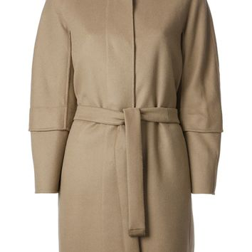 Max Mara removable padded lining coat