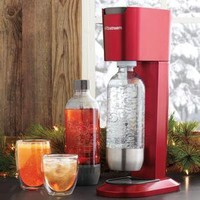 SodaStream Genesis Soda Maker, Red - Cocktails - Bar Tools - Kitchen & Bar Tools - Sur La Table