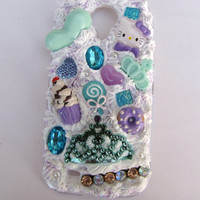 Custom Decoden Galaxy S4 Case by KristaRaeArt on Etsy