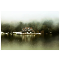 Landscape photography,  fog, Lake, Nature photography, decor, art, Home Decor, wall decor, Rustic , print, gift ideas