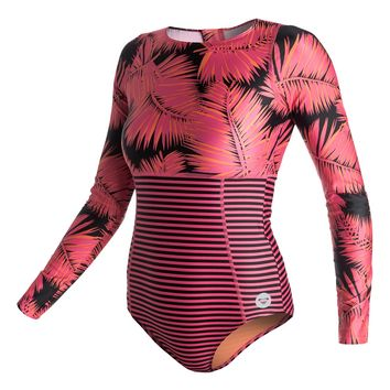 High Tide Long Sleeve Springsuit Rashguard ARJWR03053 - Roxy