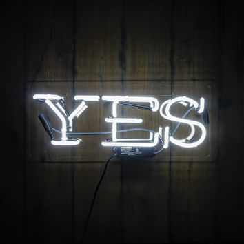 Yes Neon Sign