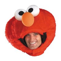 Mens Elmo Headpiece(One Size-As Shown)