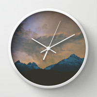 Galaxy Wall Clock by Man & Camera