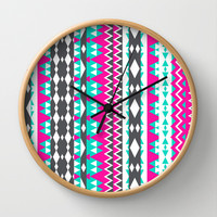 Mix #553 Wall Clock by Ornaart