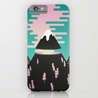 Enchanted mountains iPhone & iPod Case by Will Wild