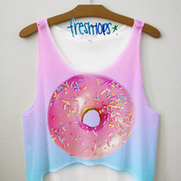 Donut Life Crop Top | fresh-tops.com