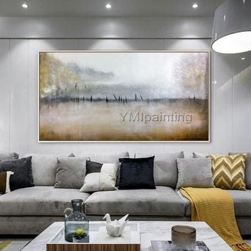 Abstract painting nordic style canvas painting cuadros abstractos acrylic painting on canvas Wall Art Pictures for living room home decor