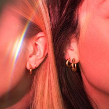Aria Hoop Earring Set | Urban Outfitters